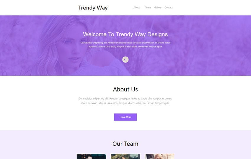 trendy way newsletter template a email category web template mobile website template free
