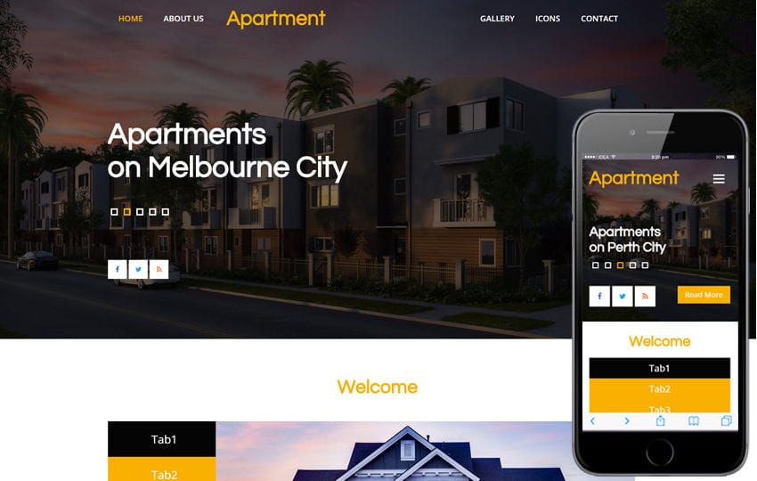 Apartment a Real Estate Category Flat Bootstrap Responsive Web Template