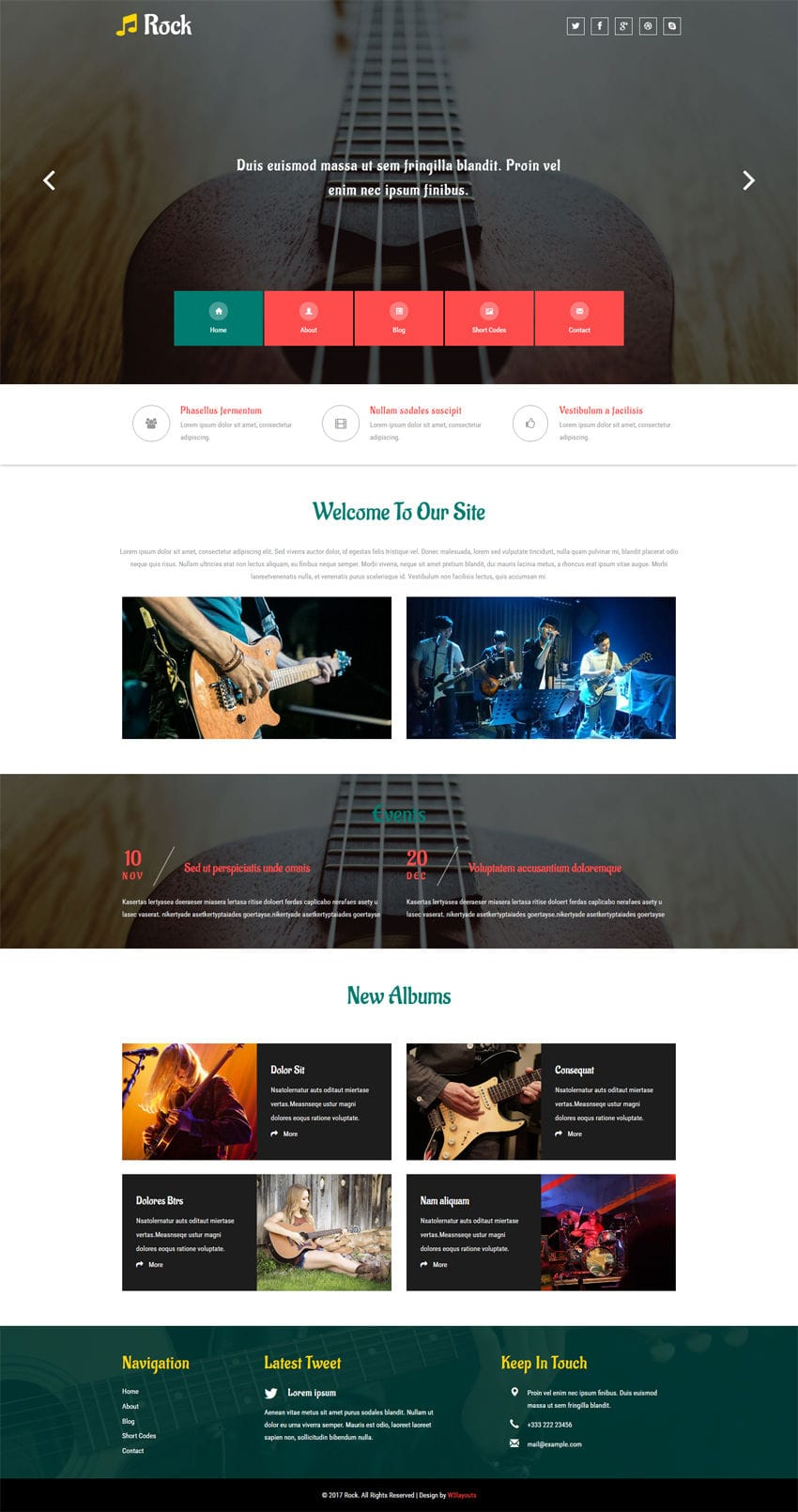 rock a entertainment category flat bootstrap responsive web template. Black Bedroom Furniture Sets. Home Design Ideas