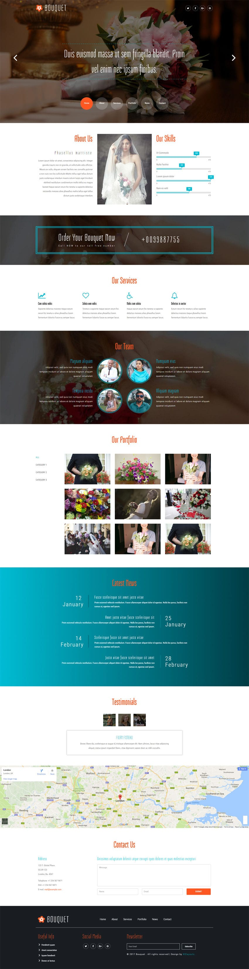 bouquet a wedding category bootstrap responsive web template. Black Bedroom Furniture Sets. Home Design Ideas