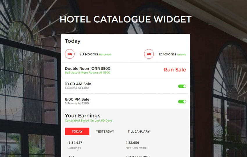 Hotel Catalogue Widget a Flat Responsive Widget Template Mobile website template Free