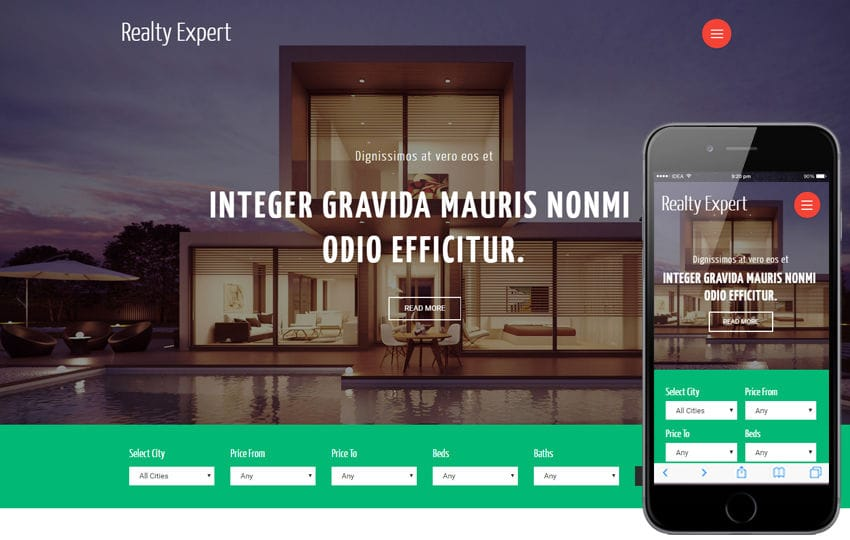 Realty Expert a Real Estates and Builders Category Bootstrap Responsive Web Template Mobile website template Free