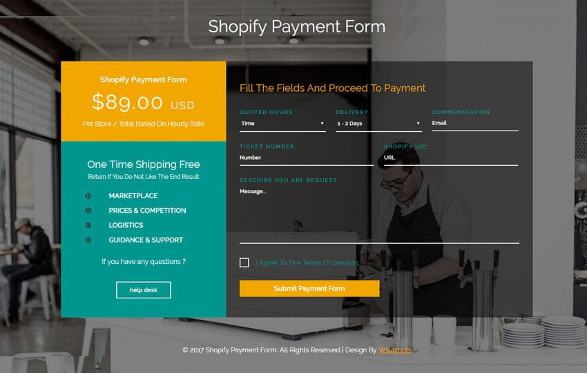 shopify payment form flat responsive widget template. Black Bedroom Furniture Sets. Home Design Ideas