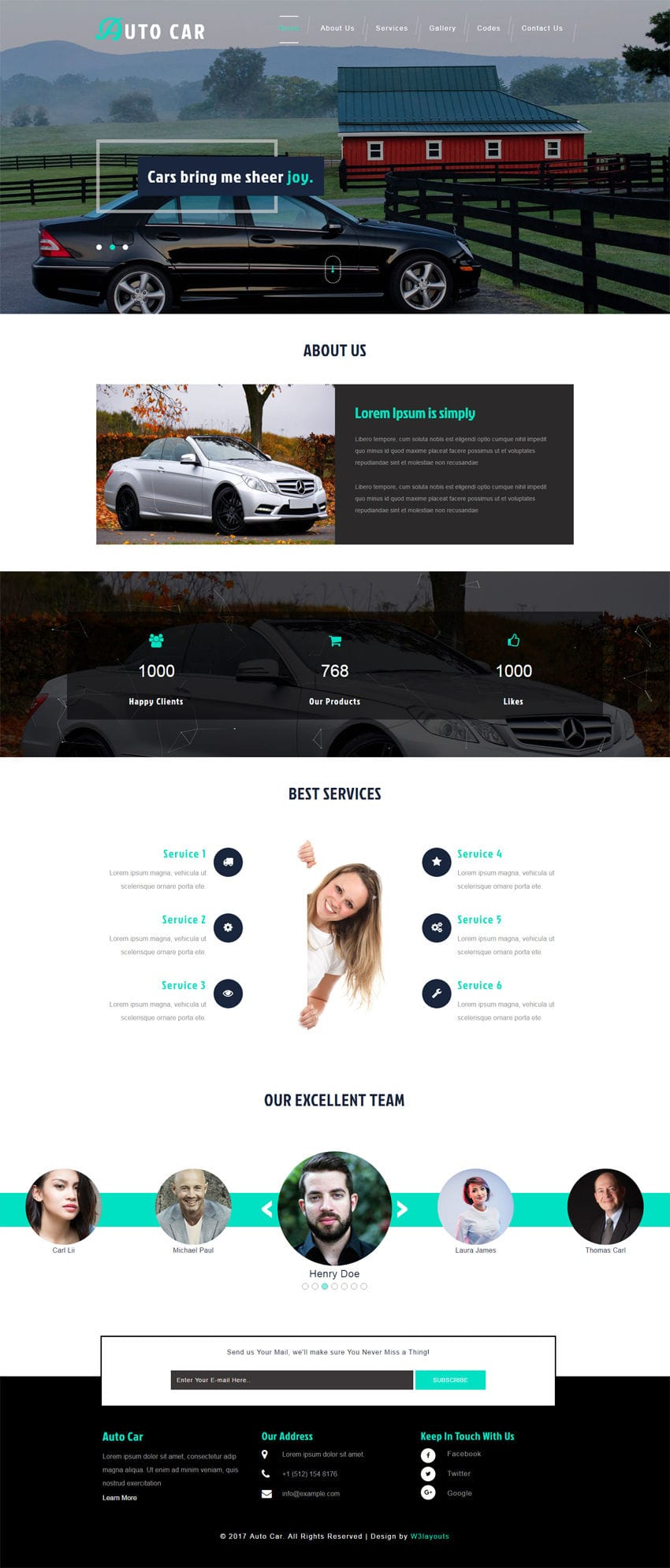 Auto car an automobile category bootstrap responsive web template maxwellsz