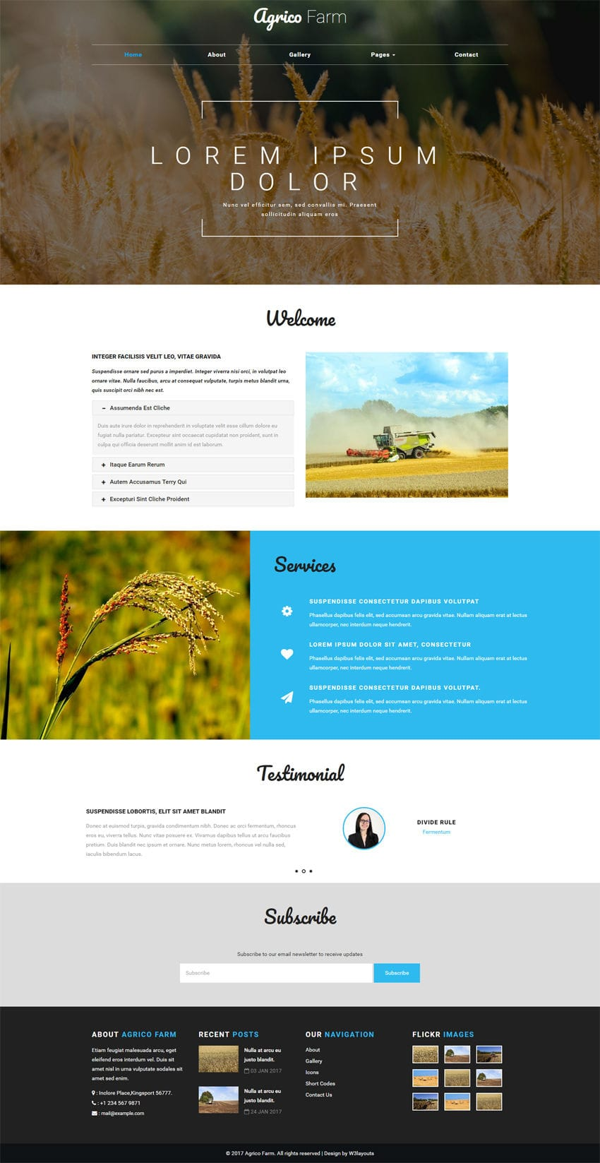 Best Designed Farm Websites