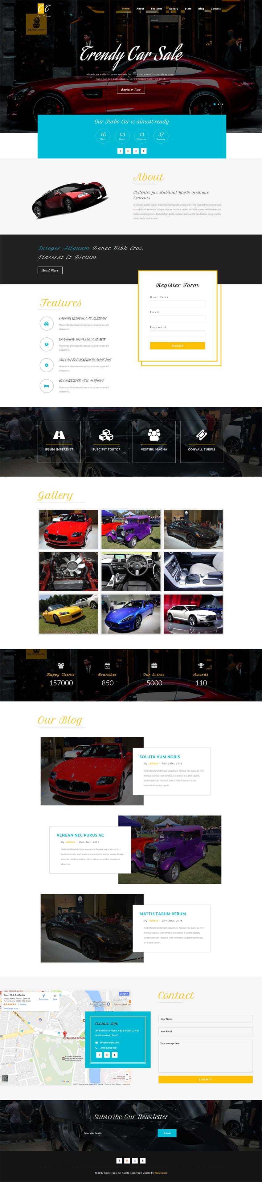 Car Trade An Autos Transportation Bootstrap Responsive Web Template
