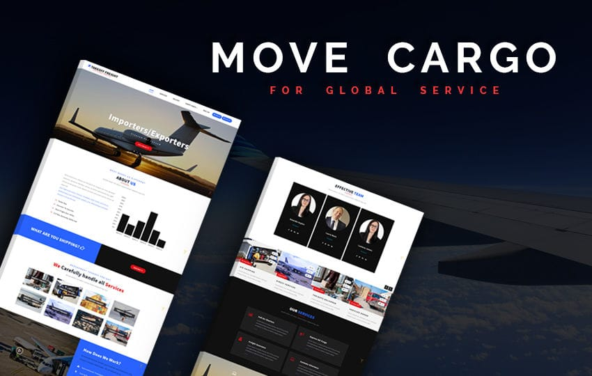 Move Cargo a Transportation Category Bootstrap Responsive Web Template Mobile website template Free