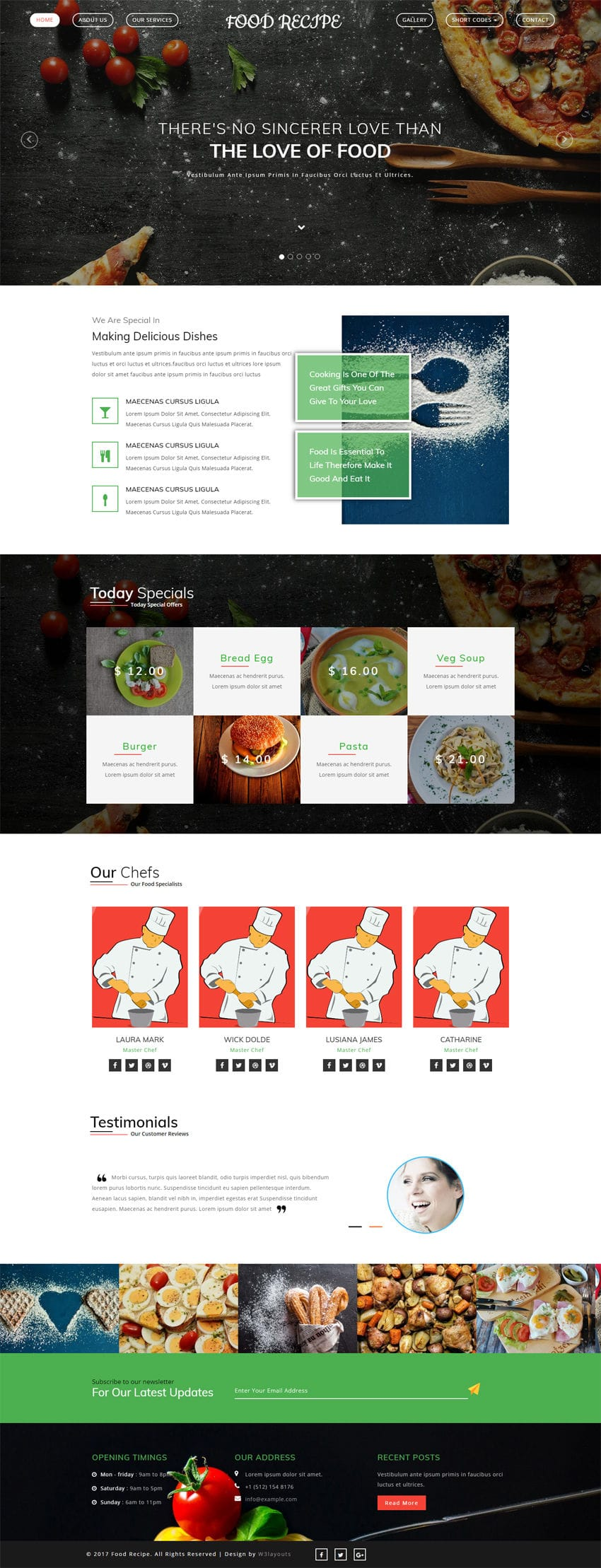 Food recipe a hotel category bootstrap responsive web template download template food recipe forumfinder Choice Image