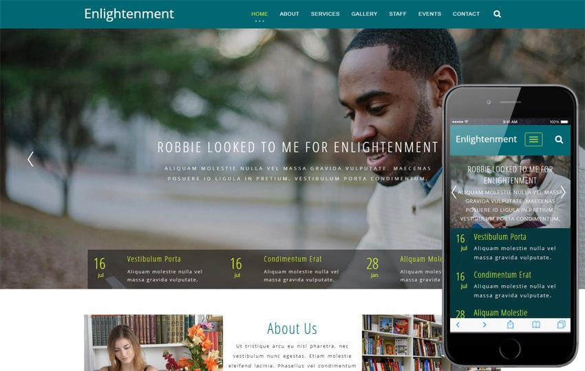 Edulearn an Education Category Bootstrap Responsive Web Template ...