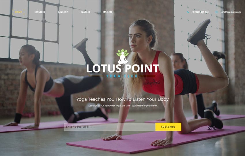 Lotus Point Sports Category Bootstrap Responsive Web Template Mobile website template Free