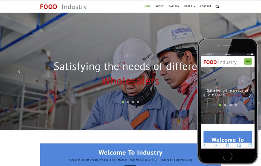 Industrial - w3layouts.com