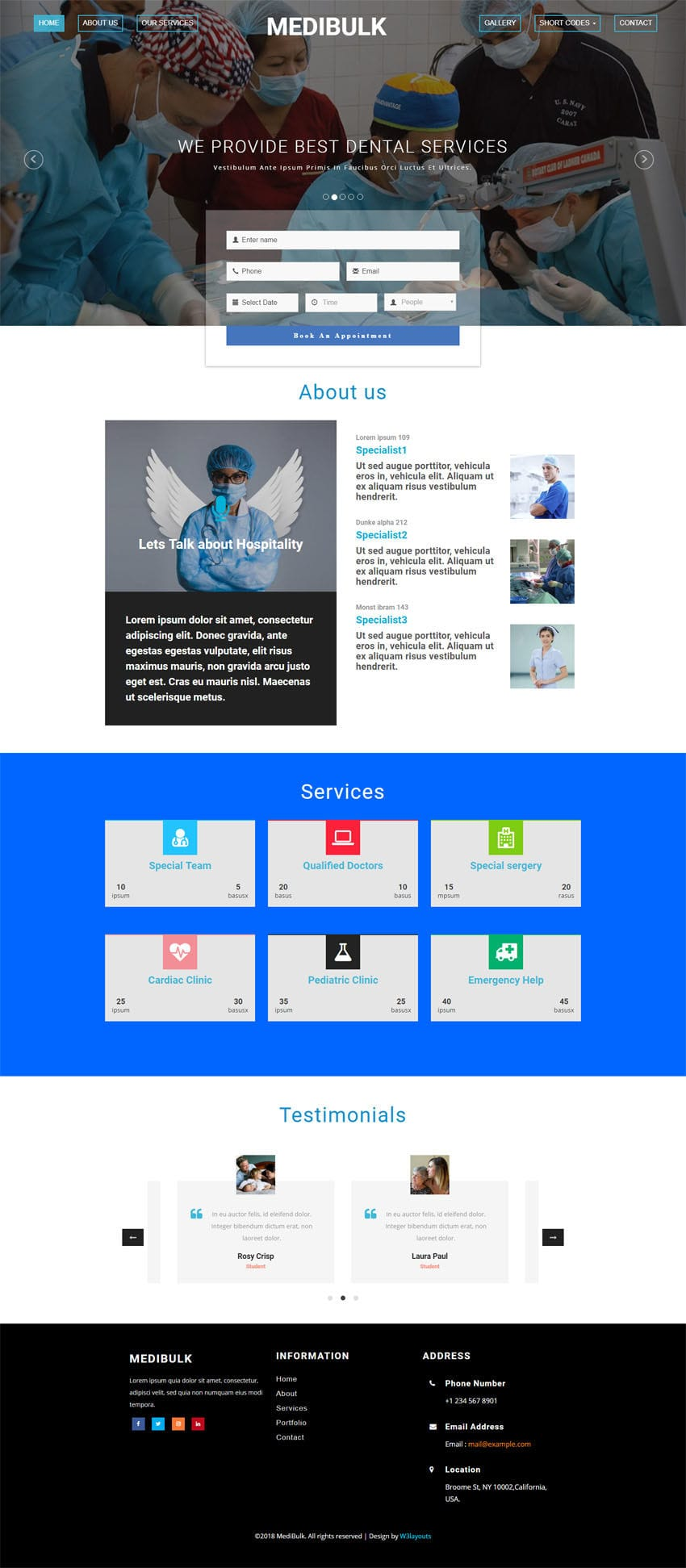 bootstrap 3 email template - medibulk medical category bootstrap responsive web template