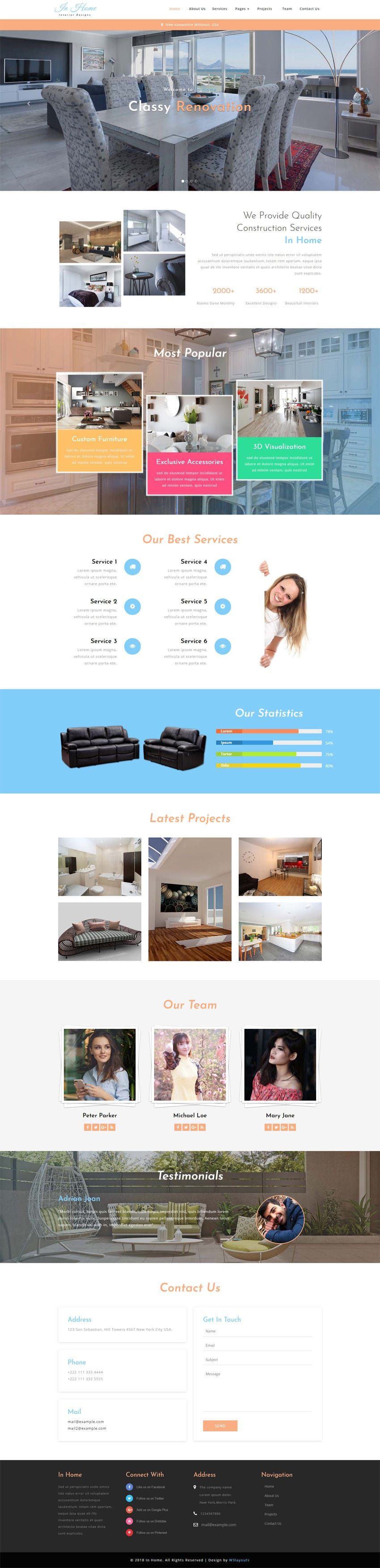 In Home Interior Category Bootstrap Responsive Web Template Free D Home Design Html on free design your dream home, free virtual home design, 3d mansion design, architect home design, free design programs, houzz home design, free design your own kitchen, design home design, free foreclosed home listings, interior design, photoshop home design, modern house design, exterior home design, self-sustaining home design, this home app design, cat home design, free software home design, make a 3d design, 3ds max home design, blender home design,