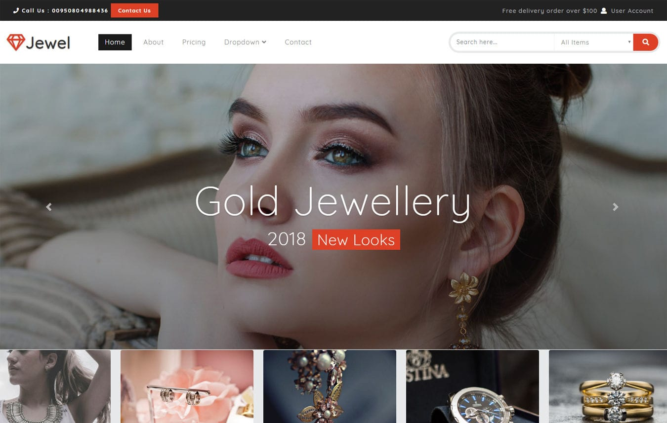 Jewel a Flat Bootstrap Responsive Web Template Mobile website template Free