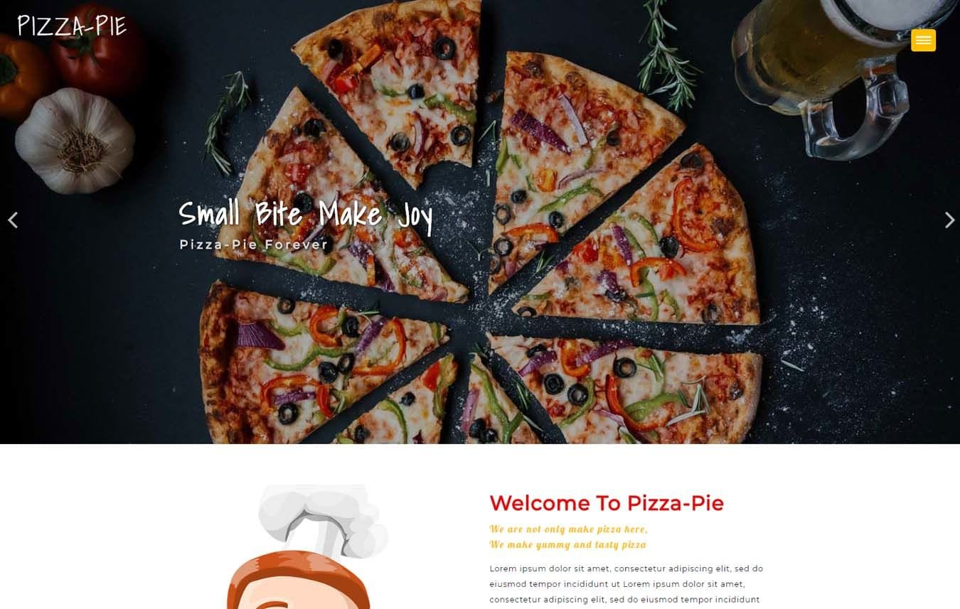 Pizza Pie a Hotels Category Flat Bootstrap Responsive web Template Mobile website template Free