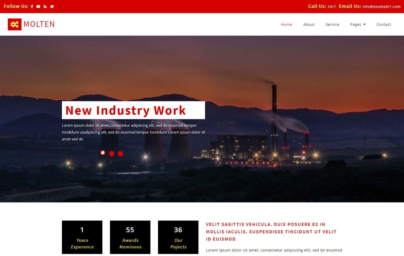Industrial W3layouts