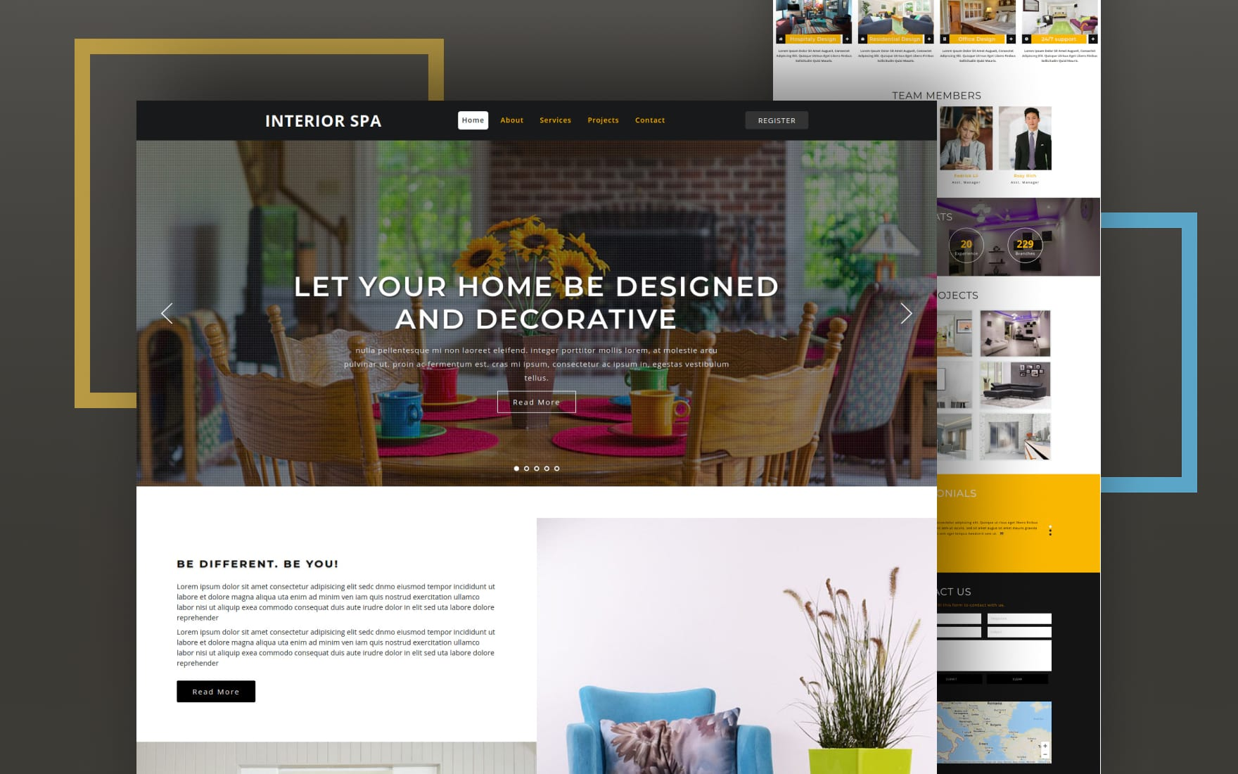 Interior Design Website Templates Furniture Templates W3layouts