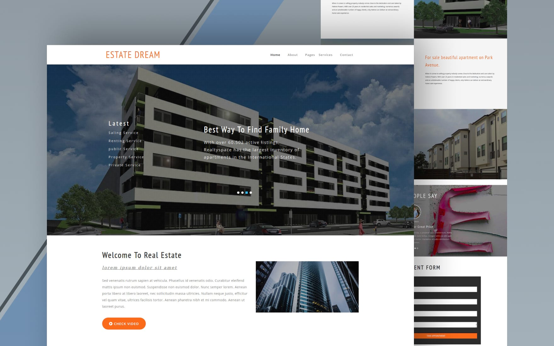 112 Free Real Estate Website Templates By W3layouts
