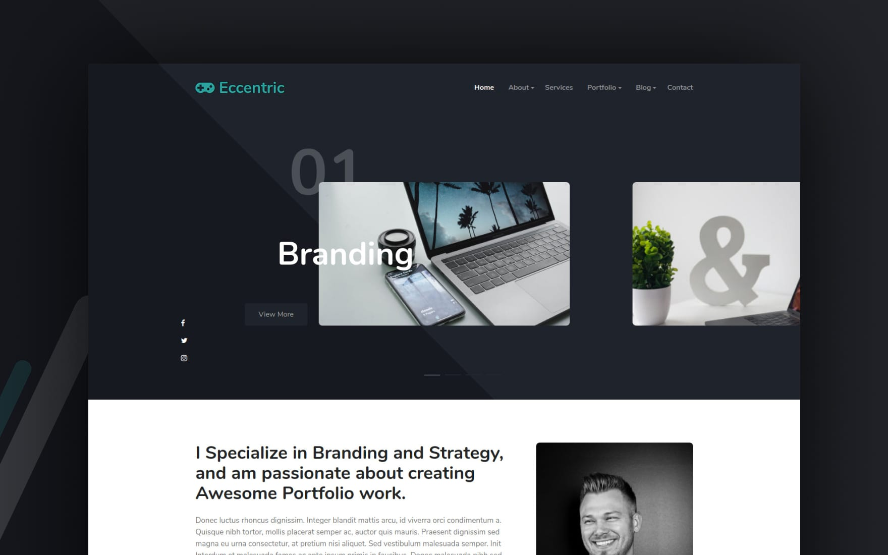 185 Free Personal Website Template W3layouts