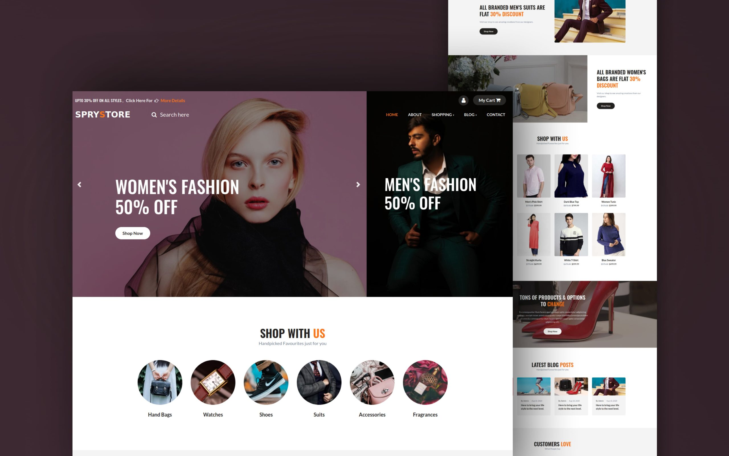 Free Ecommerce Website Templates For Online Stores By W3layouts