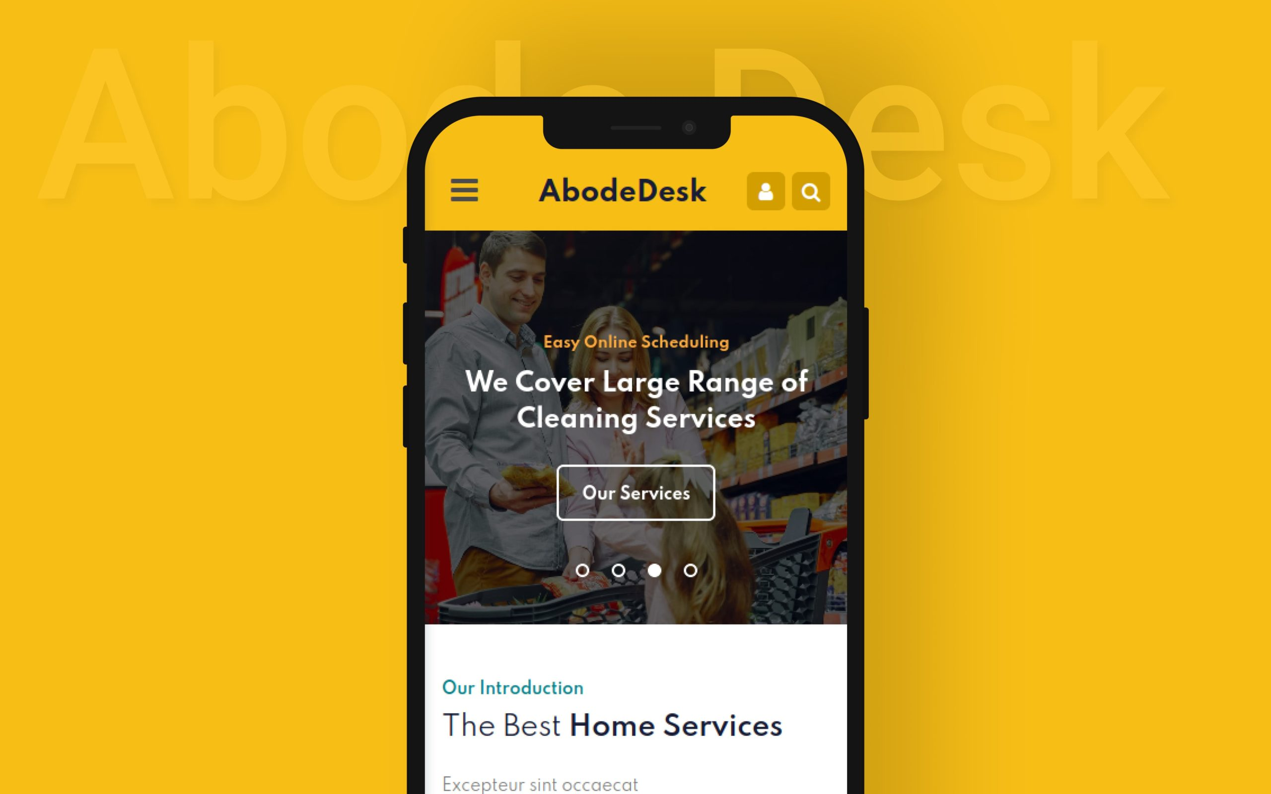 Mobile App Website Template from w3layouts.com